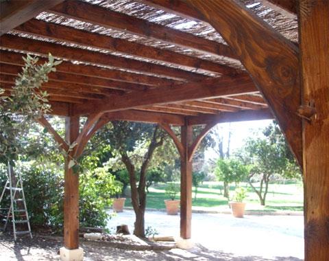 Abris voiture carport bois g menos et bandol 13 aix en - Abri de jardin flovene aixen provence ...